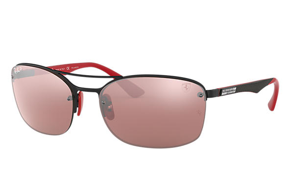 Ray-Ban 0RB3617M-RB3617M SCUDERIA FERRARI COLLECTION Noir; Noir,Rouge SUN