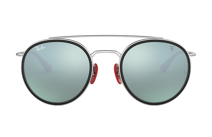 Ray-Ban  sonnenbrillen RB3647M MALE 002 rb3647m scuderia ferrari collection silber 8056597046367
