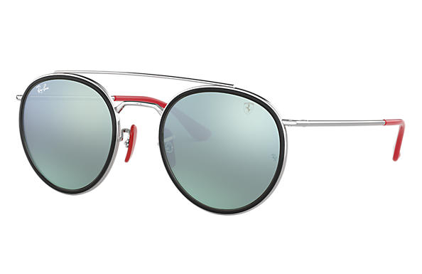 Ray-Ban 0RB3647M-RB3647M SCUDERIA FERRARI COLLECTION Argent SUN
