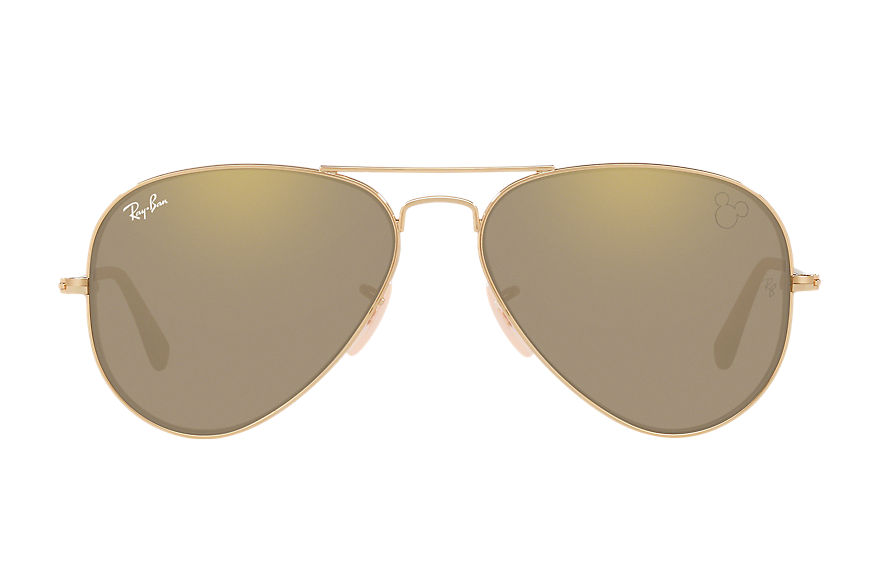 Ray-Ban  lunettes de soleil RB3025K MALE 001 mickey m90th 24k or 8056597046411
