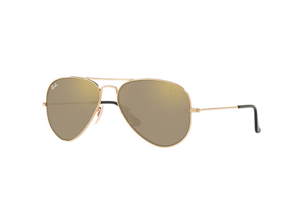Ray-Ban RAY-BAN_X_DISNEY Gold with Gold Mirror lens