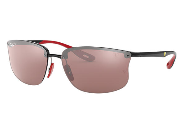 Ray-Ban 0RB4322M-RB4322M SCUDERIA FERRARI COLLECTION Nero SUN