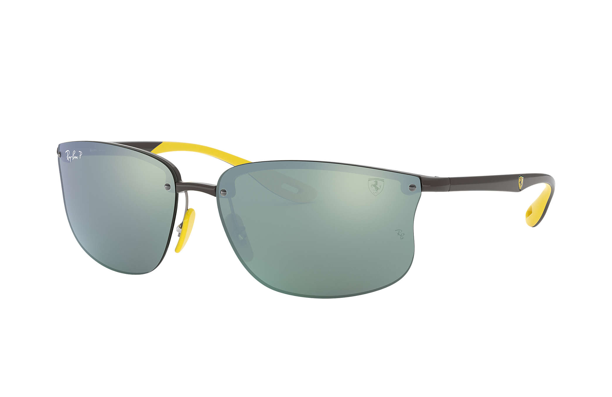 34353ff62057c Ray-Ban Rb4322m Scuderia Ferrari Collection RB4322M Cinzento - Nylon ...