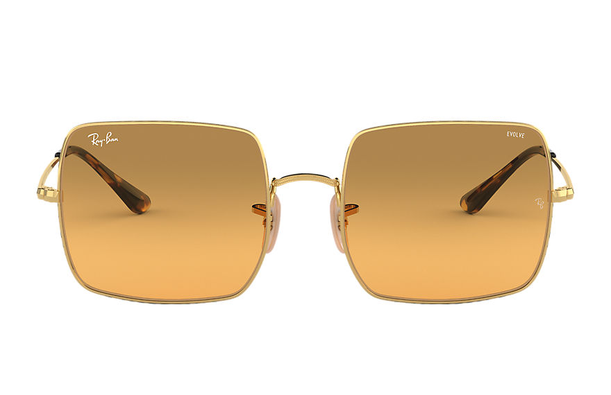 Ray-Ban  sunglasses RB1971 MALE 003 square 1971 washed evolve gold 8056597053976