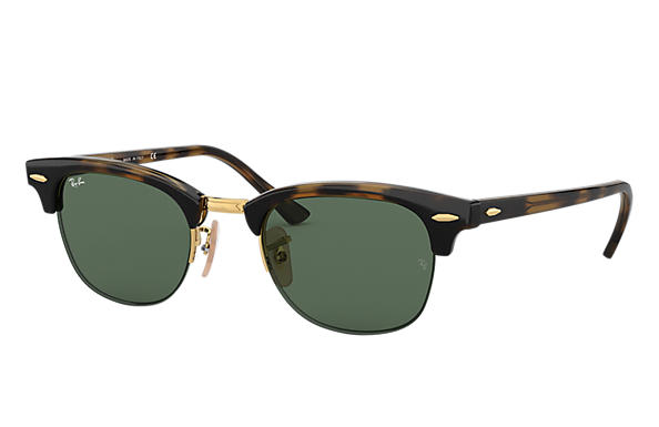 Ray-Ban Sunglasses RB4354 Tortoise with Green Classic lens