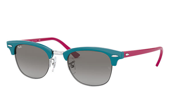 Ray-Ban Sunglasses RB4354 Light Blue with Grey Gradient lens