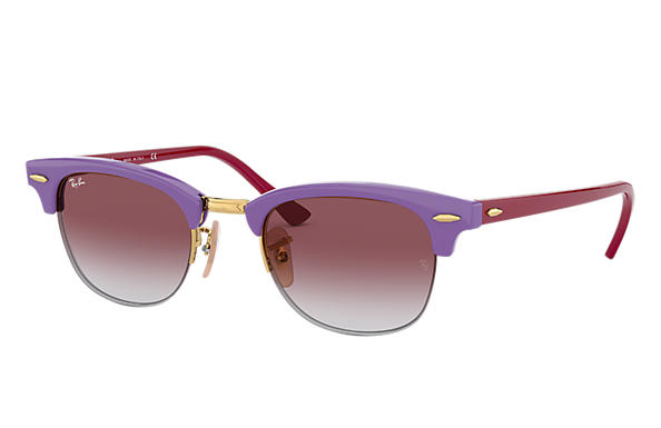 Ray-Ban Sunglasses RB4354 Light Violet with Pink Gradient lens