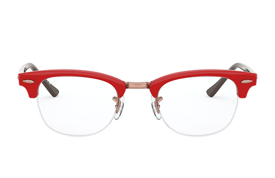 Ray-Ban  lunettes de vue RX4354V MALE 002 clubmaster gaze red 8056597054959