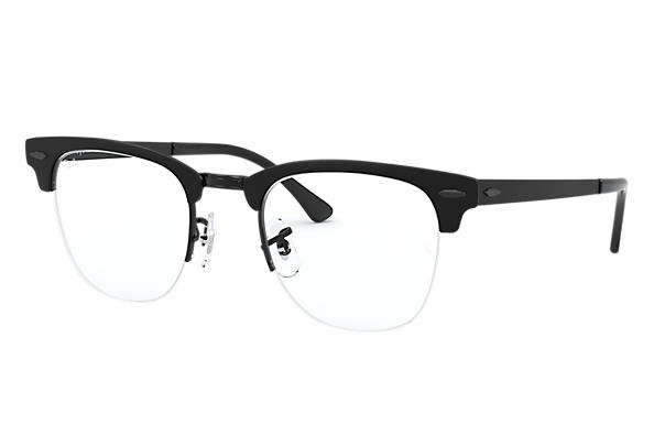 Ray-Ban 0RX3716VM-CLUBMASTER METAL OPTICS Black OPTICAL