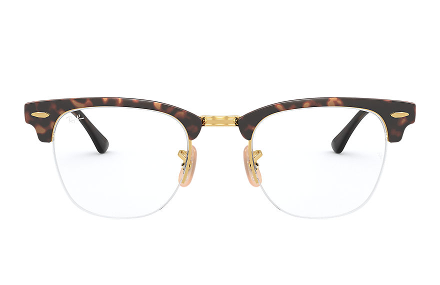 Ray-Ban		 Eyeglasses CLUBMASTER METAL OPTICS Tortoise