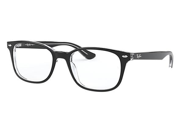 black ray bans glasses