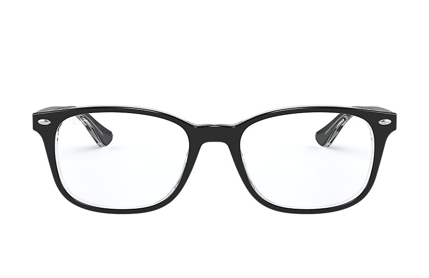 Ray-Ban  eyeglasses RX5375 UNISEX 001 rb5375 black 8056597061872
