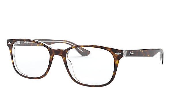 Ray-Ban 0RX5375-RB5375 Tortoise,Transparent OPTICAL