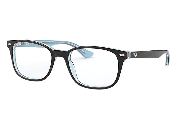 Ray-Ban 0RX5375-RB5375 Tartaruga,Azzurro OPTICAL