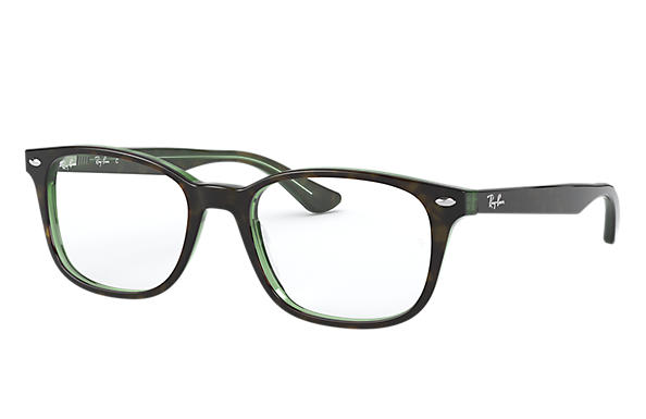 Ray-Ban 0RX5375-RB5375 Tortoise,Green OPTICAL