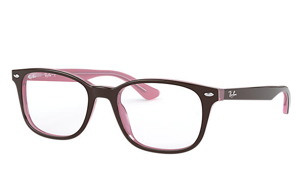 Ray-Ban 0RX5375-RB5375 Brown,Pink OPTICAL