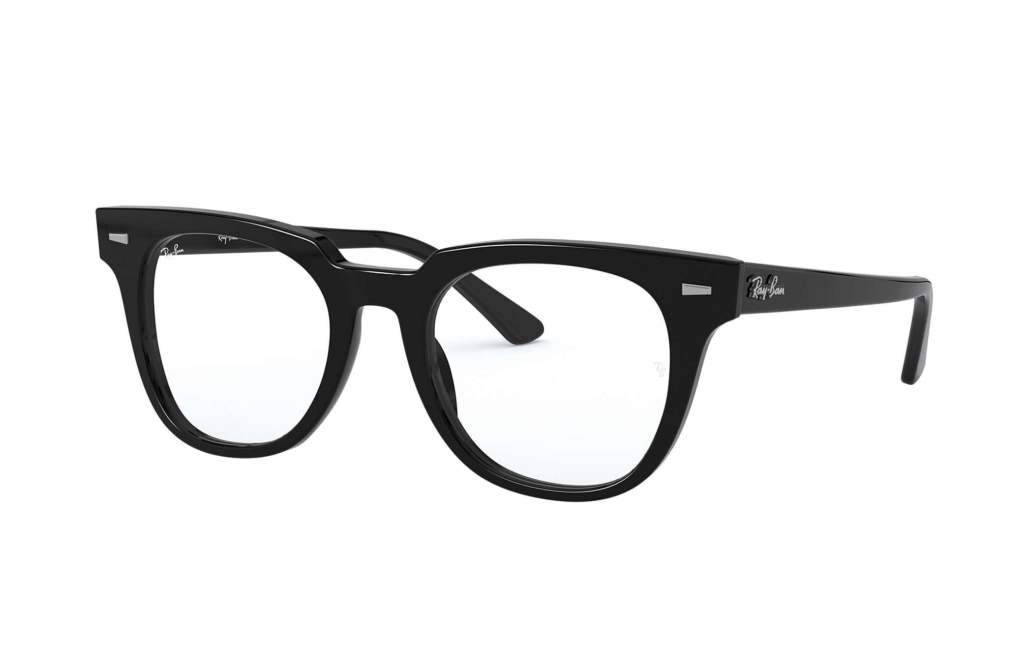 Ray Ban eyeglasses Meteor Optics RB5377 Black Acetate