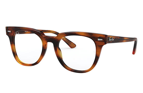 Ray-Ban 0RX5377-METEOR OPTICS Striped Havana,Tortoise; Tortoise OPTICAL