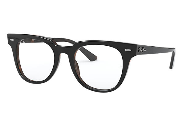 Ray-Ban 0RX5377-METEOR OPTICS Noir,Havane OPTICAL