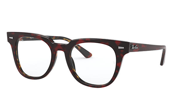 Ray-Ban 0RX5377-METEOR OPTICS Red Havana,Tortoise; Red,Tortoise OPTICAL