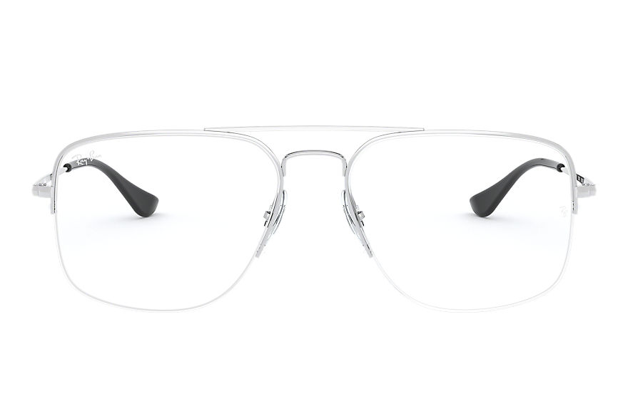 Ray-Ban  eyeglasses RX6441 MALE 005 general gaze silver 8056597062503