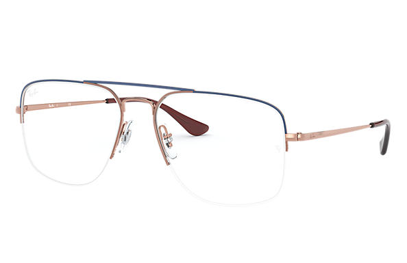 Ray-Ban 0RX6441-GENERAL GAZE Blue,Bronze-Copper; Bronze-Copper OPTICAL