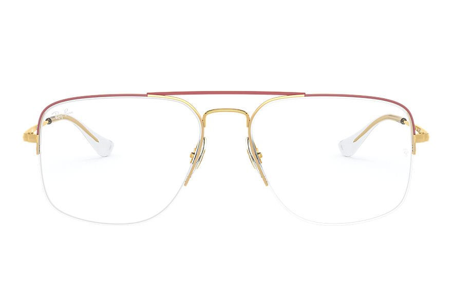 Ray-Ban  eyeglasses RX6441 MALE 003 general gaze bordeaux 8056597062541