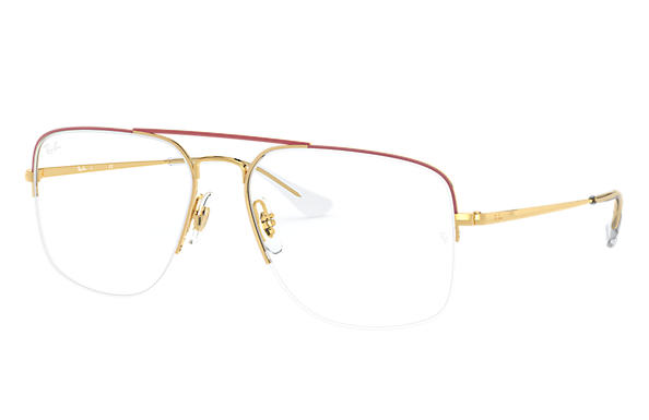 Ray-Ban 0RX6441-GENERAL GAZE Bordeaux,Oro; Oro OPTICAL