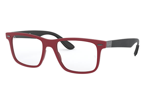 Ray-Ban 0RX7165-RB7165 Red; Black OPTICAL