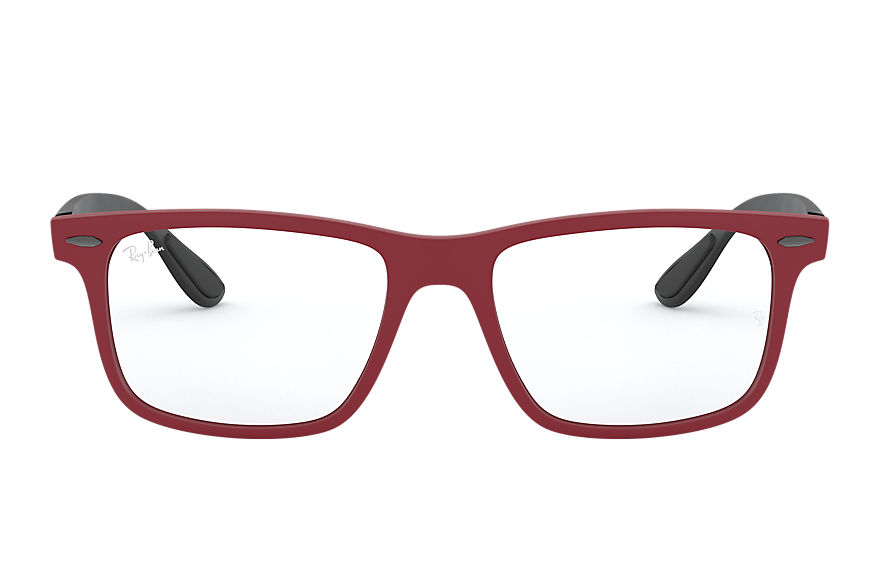 Ray-Ban  eyeglasses RX7165 UNISEX 005 rb7165 red 8056597062848