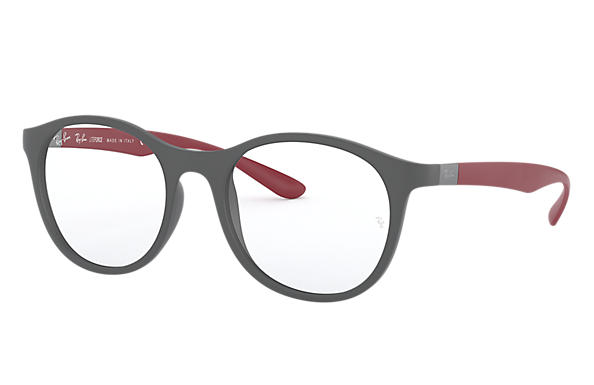 Ray-Ban 0RX7166-RB7166 Gris; Rouge OPTICAL