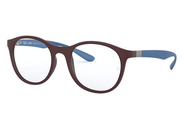 Ray-Ban 0RX7166-RB7166 Violet; Light Blue OPTICAL