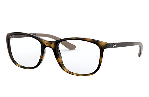 Ray-Ban 0RX7169-RB7169 Tartaruga; Marrom OPTICAL