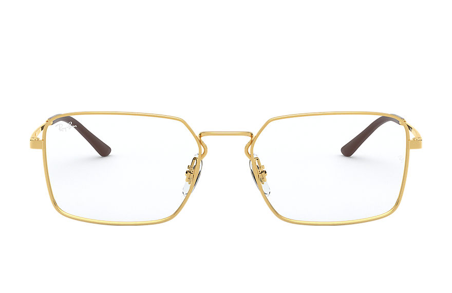 Ray-Ban  eyeglasses RX6440 UNISEX 001 rb6440 gold 8056597063807