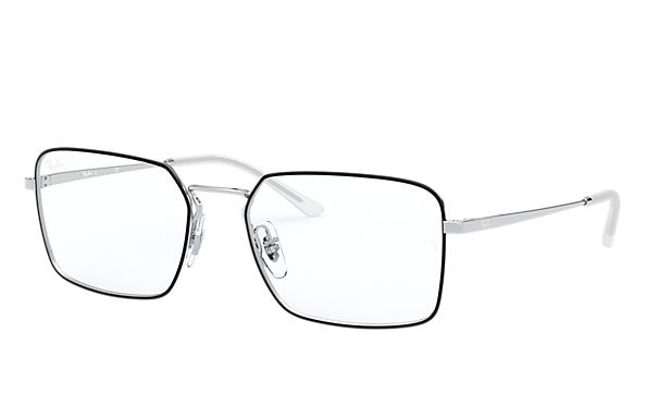 Ray-Ban 0RX6440-RB6440 Black,Silver; Silver OPTICAL
