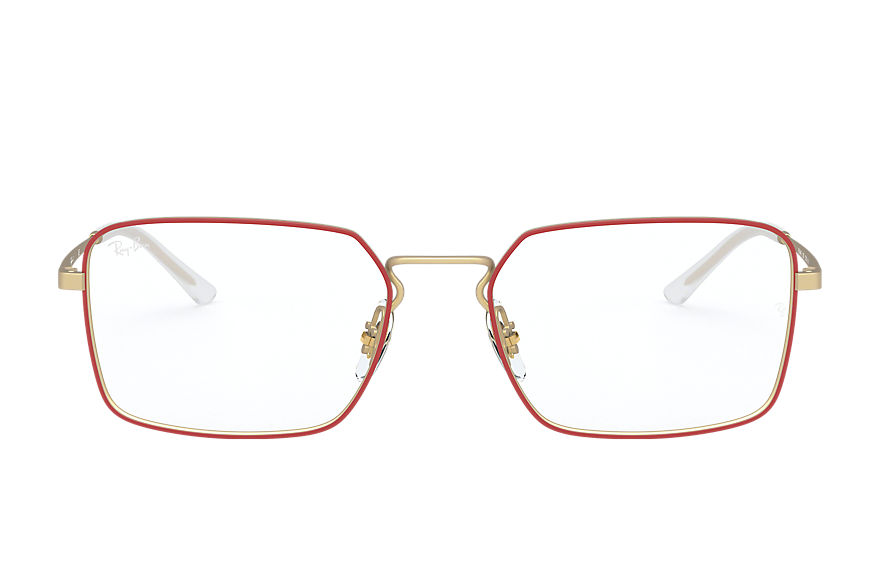 Ray-Ban  eyeglasses RX6440 UNISEX 006 rb6440 red 8056597064002