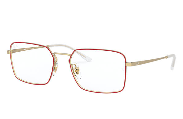 Ray-Ban 0RX6440-RB6440 Rouge,Or; Or OPTICAL