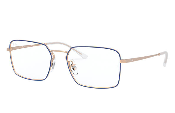 Ray-Ban 0RX6440-RB6440 Blau,Bronze-Kupfer; Bronze-Kupfer OPTICAL