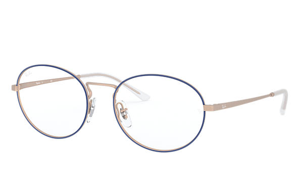 Ray-Ban 0RX6439-RB6439 Blue,Bronze-Copper; Bronze-Copper OPTICAL