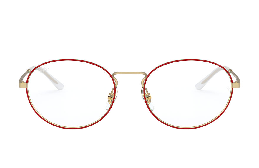 Ray-Ban  eyeglasses RX6439 UNISEX 006 rb6439 red 8056597064590