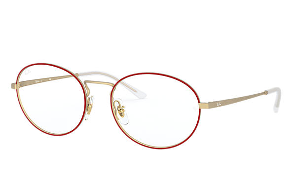 Ray-Ban 0RX6439-RB6439 Rouge,Or; Or OPTICAL