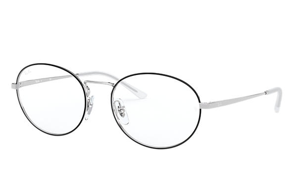 Ray-Ban 0RX6439-RB6439 Black,Silver; Silver OPTICAL