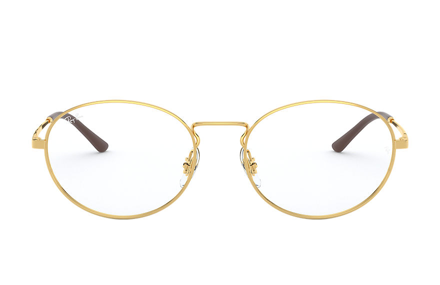 Ray-Ban  eyeglasses RX6439 UNISEX 001 rb6439 gold 8056597064620