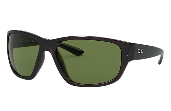 Ray-Ban 0RB4300-RB4300 Transparent Grey; Transparent Grey,Grey SUN