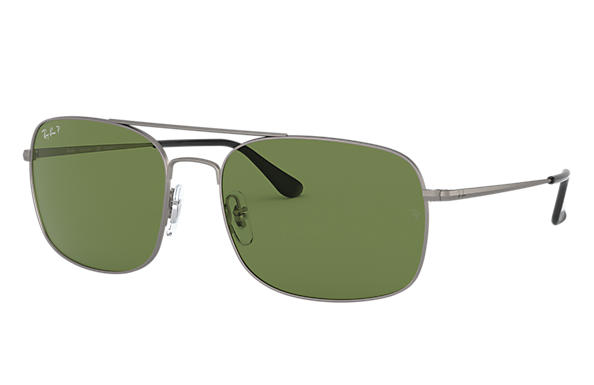 Ray-Ban		 0RB3611-RB3611 Staalgrijs SUN