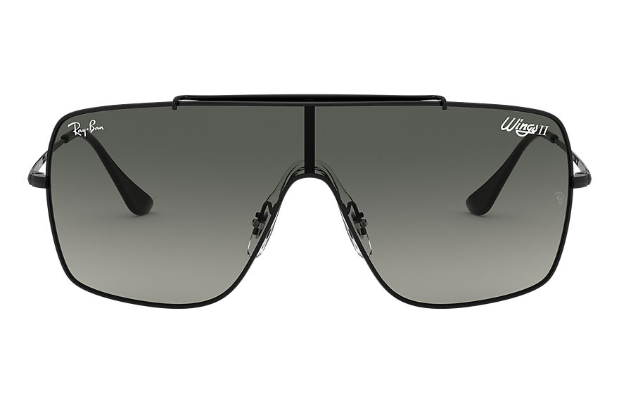 Ray-Ban  sunglasses RB3697 MALE 005 wings ii black 8056597071512