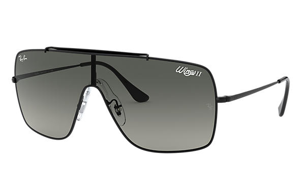 Ray-Ban 0RB3697-WINGS II Negro SUN