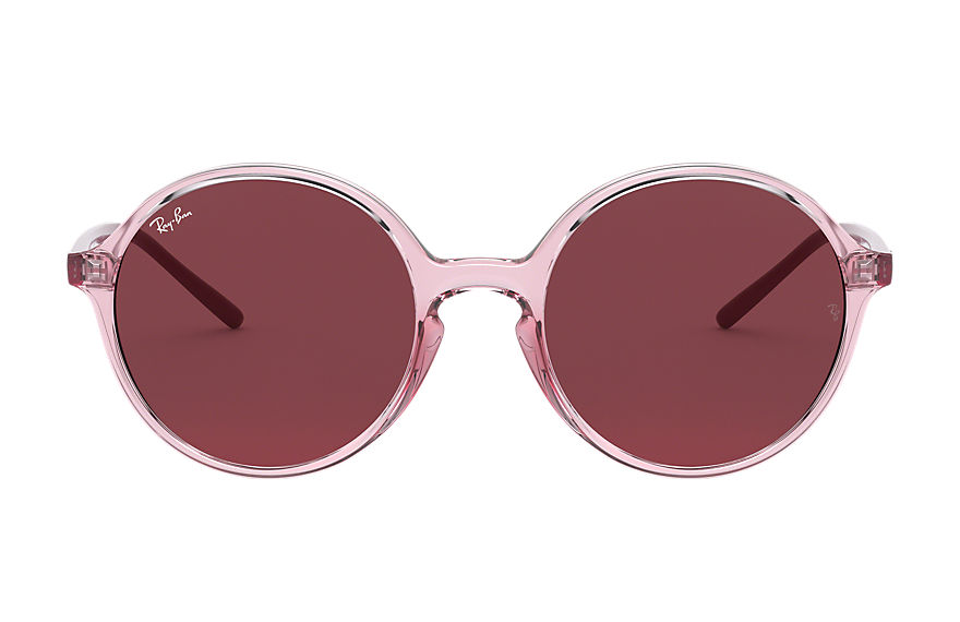 Ray-Ban  sunglasses RB4304 FEMALE 003 rb4304 transparent pink 8056597071543