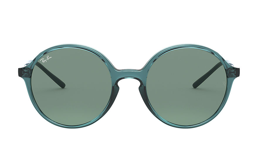 Ray-Ban  occhiali da sole RB4304 FEMALE 006 rb4304 transparent turquoise 8056597071581