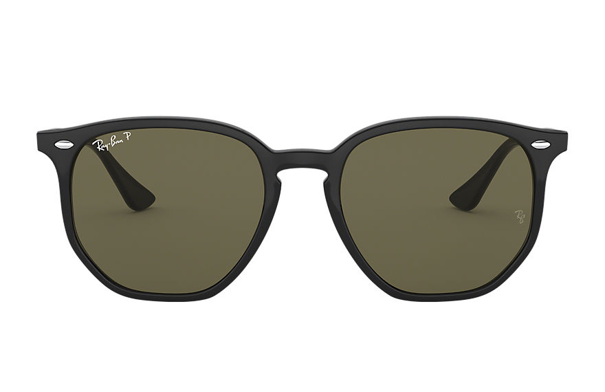 Ray-Ban  sunglasses RB4306 UNISEX 002 rb4306 czarny 8056597072977